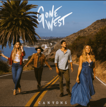 Gone West Canyons Album Cover